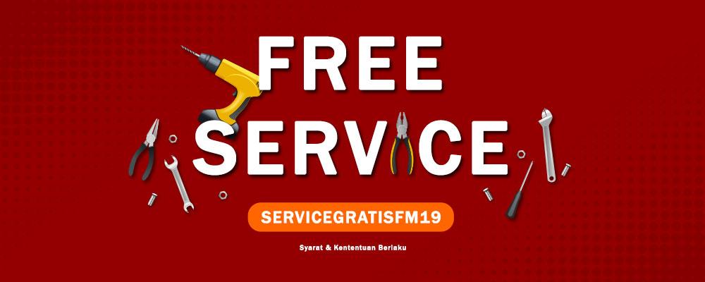 Promo FREE JASA SERVICE - Fomac Indonesia