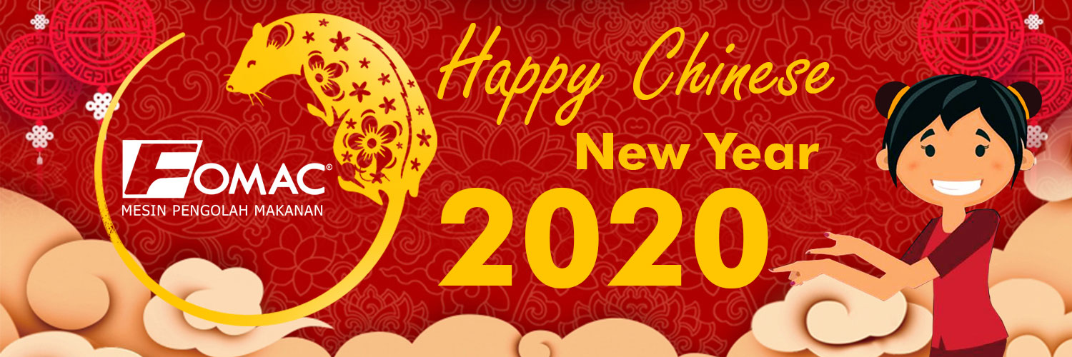 Happy Chinese New Year 2020 - Fomac